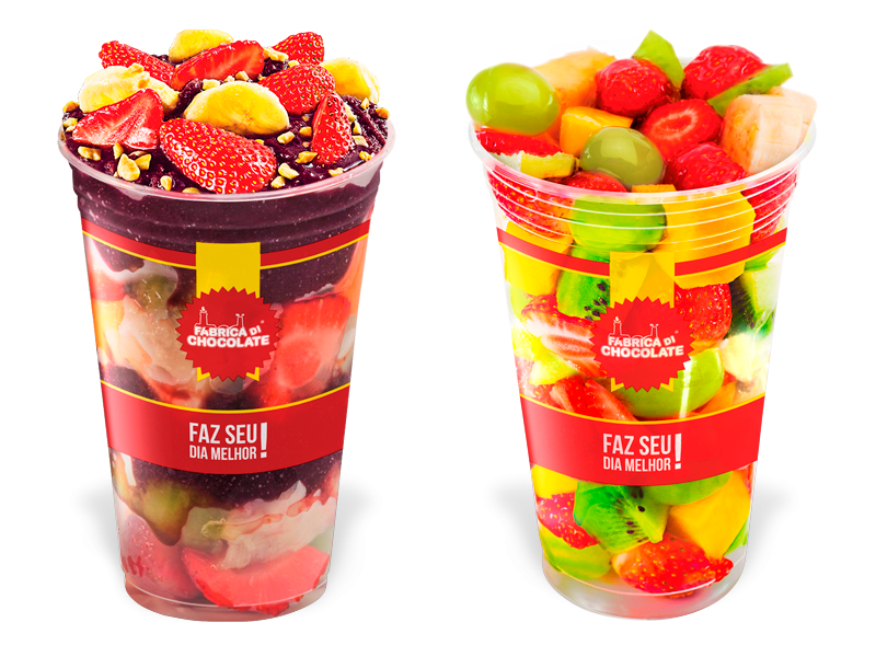 Create your Fruit Salad, Acai in the glass, Juice or Vitamin